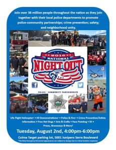 2016 National Night Out Flyer 7-13